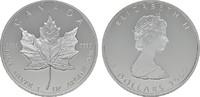 5 Dollars 1989 KANADA Elizabeth II. seit 1952. Polierte Platte  28,00 EUR  zzgl. 4,50 EUR Versand