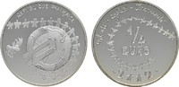 1/4 Euro 2002 FRANKREICH  Polierte Platte  23,00 EUR  zzgl. 4,50 EUR Versand