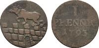 Ku.-Pfennig 1793. ANHALT Friedrich Albrecht, 1765-1796. Fast sehr schön.  13,00 EUR  zzgl. 4,50 EUR Versand