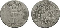 1/48 Taler 1763, Stralsund. STRALSUND Unter Schweden. Adolf Friedrich, ... 14,00 EUR  zzgl. 4,50 EUR Versand