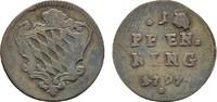 Pfennig 1797. BAYERN Karl Theodor, 1777-1799. Sehr schön.  10,00 EUR  zzgl. 4,50 EUR Versand