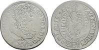 15 Kreuzer 1691, Kremnitz. RÖMISCH-DEUTSCHES REICH Leopold I., 1657-170... 40,00 EUR  zzgl. 4,50 EUR Versand