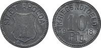 10 Pfennig 1918. SACHSEN-WEIMAR-EISENACH  Leichter Belag, Vorzüglich.  9,00 EUR  zzgl. 4,50 EUR Versand