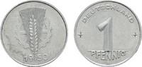 1 Pfennig 1950 A. DEUTSCHE DEMOKRATISCHE REPUBLIK, 1949-1990  Fast Stem... 30,00 EUR  zzgl. 4,50 EUR Versand