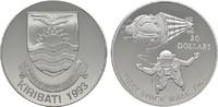 20 Dollars 1993 KIRIBATI Republik. Polierte Platte  35,00 EUR  zzgl. 4,50 EUR Versand