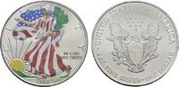 1 Dollar (farbig) 1998 USA  Stempelglanz  25,00 EUR  zzgl. 4,50 EUR Versand