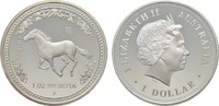 1 Dollar 2002, P. AUSTRALIEN Elizabeth II. seit 1952. Polierte Platte  100,00 EUR  zzgl. 4,50 EUR Versand
