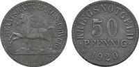 50 Pfennig 1920. BRAUNSCHWEIG Staatsbank Leicht korrodiert. Vorzüglich ... 10,00 EUR  zzgl. 4,50 EUR Versand