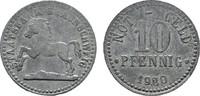 10 Pfennig (Zink) 1920. BRAUNSCHWEIG Staatsbank Vorzüglich +.  8,00 EUR  zzgl. 4,50 EUR Versand