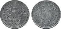 50 Pfennig 1920. BREMEN  Leichte Patina. Vorzüglich +.  5,00 EUR  zzgl. 4,50 EUR Versand