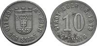 10 Pfennig 1919. WESTFALEN  Leicht fleckig. Vorzüglich -.  5,00 EUR  zzgl. 4,50 EUR Versand