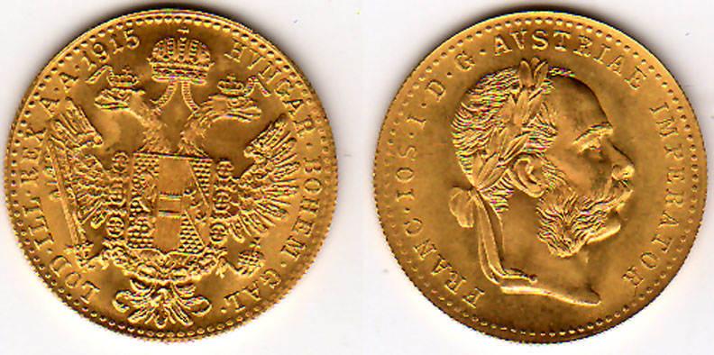 1 dukat 1915 sterreich sterreich 1 dukat laufende amtliche nachpr gung 3 49 g 986er gold. Black Bedroom Furniture Sets. Home Design Ideas