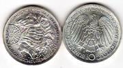 BRD 10 DM 10-DM-Gedenkmünze Römische Verträge, 1987 G, Silber!