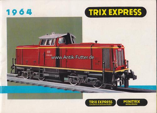 Katalog/trix Express 1964 Bundesrepublik Deutschland/nürnberg
