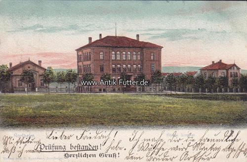 Ansichtskarte/postkarte/northeim/königl Seminar/prüfung bestanden! He