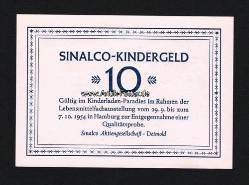 Sinalco-kindergeld/gültig im Kinderladen-paradies im Rahmen der Leben