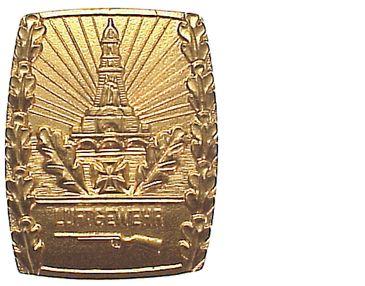 Abzeichen/kyffhäuser-schießauszeichnung,luftgewehr, in Gold Bundesrep