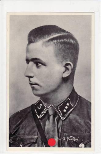 1933-1945 Drittes Reich Ansichtskarte <b>Horst Wessel</b> 2 - scan10162
