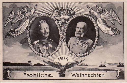 1914 deutsches reich weihnachtskarte fr hliche weihnachten. Black Bedroom Furniture Sets. Home Design Ideas