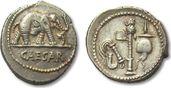 AR Denarius 49-48 B.C. ROMAN REPUBLIC C. J...