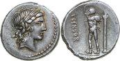 AR Denarius 82 BC Republican L. CENSORINUS...