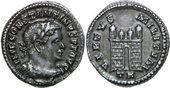 307 - 308 AD Imperial CONSTANTINUS I, AR ...