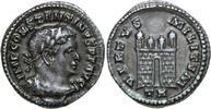 AR ½ Argenteus 307 - 308 AD Imperial CONSTANTINUS I, Trier/CAMPGATE vz  1750,00 EUR envoi gratuit