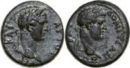 79 - 81 AD Provincial TITUS & DOMITIANUS, Æ-18, Germe/BUSTS   220,00 EUR  + 12,00 EUR frais d'envoi
