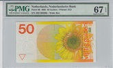 50 Gulden 1982 Netherlands NETHERLANDS P.96 -  1982 PMG 67 EPQ PMG Grad... 200,00 EUR  + 12,00 EUR frais d'envoi