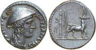 AR Denarius 55 BC Republican Cn. PLANCIUS, Rome/GOAT vz  450,00 EUR envoi gratuit
