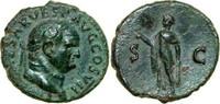 Æ As 76 AD Imperial VESPASIANUS, Rome/SPES ss  180,00 EUR  + 12,00 EUR frais d'envoi