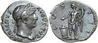 AR Denarius 124 - 128 AD Imperial HADRIANUS, Rome/GENIUS vz-  240,00 EUR  + 12,00 EUR frais d'envoi