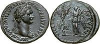 Æ As 95 - 96 AD Imperial DOMITIANUS, Rome/VICTORY & TROPHY vz-  380,00 EUR envoi gratuit