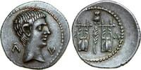 AR Drachm 27 BC v. Chr. Provincial AUGUSTUS, Masicytus/CITHARAE vz  840,00 EUR envoi gratuit
