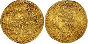 2 Souverain d Or 1617 Spanische Niederland...