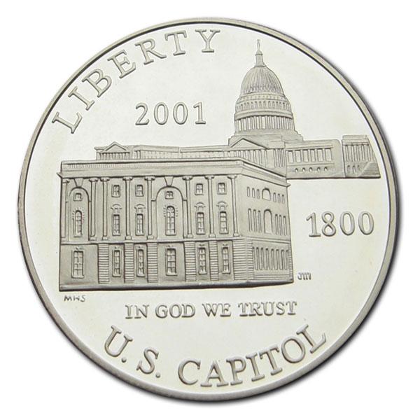 """USA """"Capitol facades"""" Dollar 2001 P pp."""