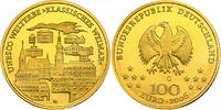 Deutschland 100 Euro (1/2 oz) UNESCO - Welterbe - Klassisches Weimar
