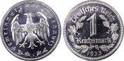 1 RM 1933-A Drittes Reich Reichsmark Kursm...