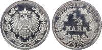 ½ RM 1915-A Deutsches Reich German Empire PP fein, PCGS PR67DCAM  1175,00 EUR kostenloser Versand