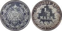 ½ RM 1915-J Deutsches Reich German Empire PP, PCGS PR65CAM, Patina!  575,00 EUR kostenloser Versand