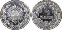 ½ RM 1916-E Deutsches Reich German Empire vz/St. EA, PCGS MS63  95,00 EUR  zzgl. 5,00 EUR Versand
