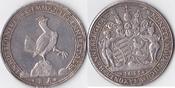 Reichstaler, 1695, Deutschland, Henneberg,...