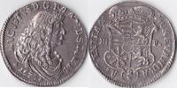 2/3 Taler, 1675, Deutschland, Magdeburg, Erzbistum, August von Sachsen-... 275,00 EUR  Excl. 5,00 EUR Verzending