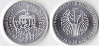 25 Euro, 2015, BRD, 25 Jahre Deutsche Einheit, st.,  32,50 EUR  Excl. 3,50 EUR Verzending