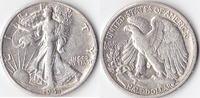 Half Dollar, 1941 S, USA, Liberty Walking Type 1916-1947, fvz,  35,00 EUR
