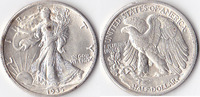 Half Dollar, 1935, USA, Liberty Walking Type 1916-1947, vz,  35,00 EUR