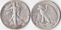 Half Dollar, 1935 D, USA, Liberty Walking Type 1916-1947, sehr schön+,  35,00 EUR