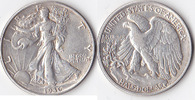 Half Dollar, 1936, USA, Liberty Walking Type 1916-1947, fvz,  30,00 EUR
