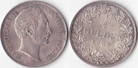 1/2 Gulden, 1863, Deutschland, Königreich Bayern,Maximilian II.,1848-18... 130,00 EUR  Excl. 5,00 EUR Verzending