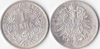 1 Mark, 1875 G, Deutschland, Kaiserreich, vz.,  35,00 EUR  Excl. 3,50 EUR Verzending